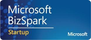 Proud Microsoft bizspark partner